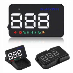 4- Motorcycle Helmet Heads-up Display 3.5 inch HUD: