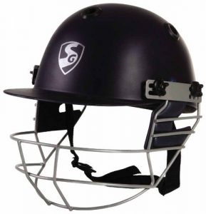 SG Cricket Batting Polypropylene Outer Shell Helmet: