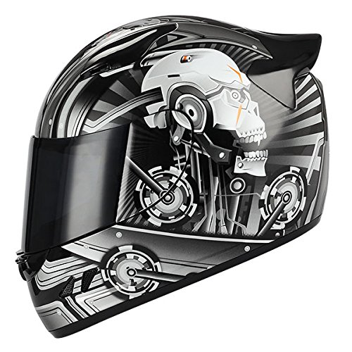 Storm Motorcycle Full Face Helmet