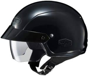 HJC Solid IS-Cruiser Half Shell Motorcycle Helmet: