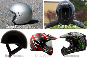 What Are The Different Motorcycle Helmet Types?